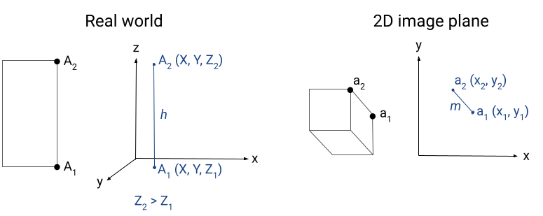 vector flow scale diagram